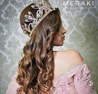 novia con corona
